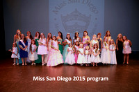 Miss San Diego 2015 Pageant