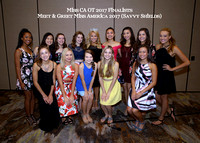 TEEN Finalists meet Miss America 2017