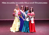 20180113 - Miss Anaheim 2018 Competition