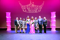 Miss OC 2018 Court with Judges