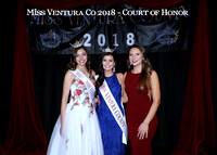 Miss Ventura Co 2018 - COURT of Honor