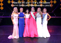 Savvy Shields (Miss America 2017) + O/S TEEN - Top 5 Finalists